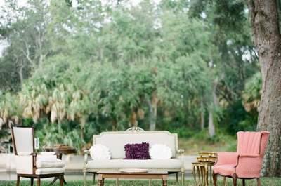 6 must para una boda al aire libre: llena de tendencias tu celebración