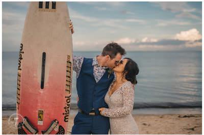Ślub w plenerze, czyli przysięga małżeńska przy brzegu morza na sopockim molo! Niezwykłe zaślubiny fantastycznej Pary!