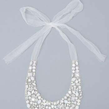 Collier formato da perle e diamanti