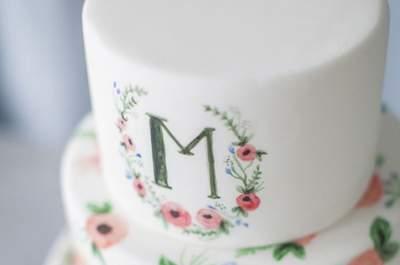 ¿Aún no sabes como son las tartas acuarela? Descúbrelas cuanto antes y elige una para tu boda