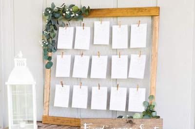 Las mejores ideas en decoración de boda rústica. ¡Apuesta por lo natural para tu gran día!