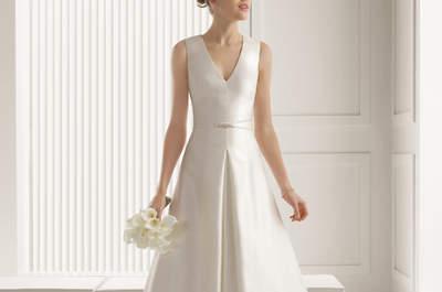 Vestido de novia para mujeres con mucho pecho, los estilos más favorecedores y de tendencia para este 2015