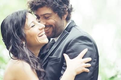 Cabelo apanhado vs. Cabelo solto para o grande dia de casamento? As leitoras respondem!