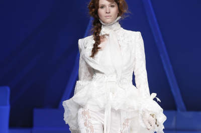 Spring 2013 Wedding Dress Trends: Pants