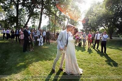 Ślub i wesele w stylu rustykalnym! Śliczna Para Młoda!