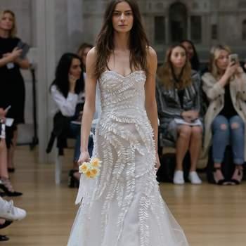 Robes de mariée Oscar de la Renta 2018 : des nouveautés pleines d'élégance et d'originalité
