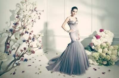 Si eres una novia atrevida, ¡rompe con las reglas sobre vestidos de novia!