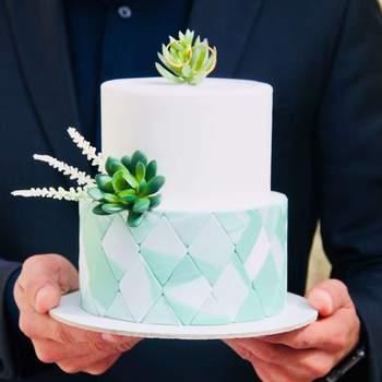 Inspiração para bolos de casamento diferentes e originais | Créditos: Os Bolos da Tata