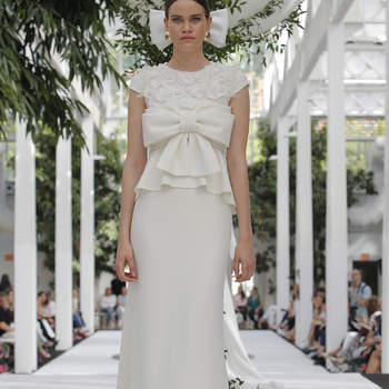 María Barragán. Créditos: Barcelona Bridal Fashion Week