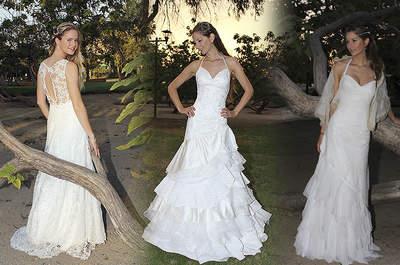 Vestidos de novia con falda voluminosa 2017. ¡Diseños que no querrás dejar escapar!