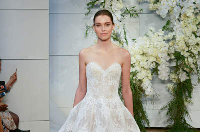 40 robes de mariée décolleté en forme de cœur qui vont vous faire craquer !