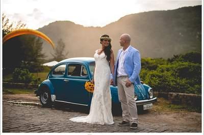 Aninha e Diogo: casamento super personalizado no Rio de Janeiro