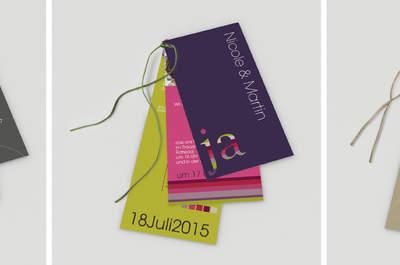 Einladungskarten für Ihre Hochzeitsfeier: So kreativ können sie sein!