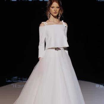 Jesús Peiró. Credits: Barcelona Bridal fashion Week.