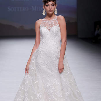 Maggie Sottero. Credits: Valmont Barcelona Bridal Fashion Week