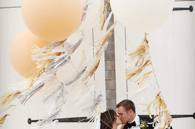 Niesamowite pomysły na dekorację ślubną z balonami. Pokochasz je!