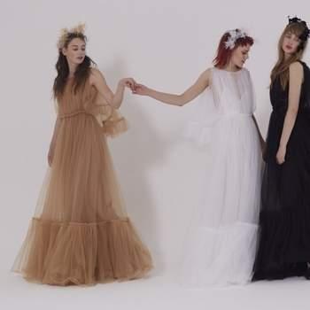Los más originales vestidos de novia de color. ¡Las mejores alternativas de tendencia!