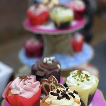 Des friandises sucrées et colorées : rien de tel pour un buffet de desserts de mariage. Source : bestshot.nl