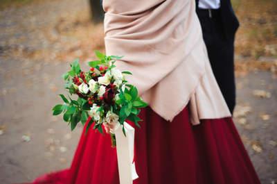 Inspiracje dla Królowej Śniegu: 10 bukietów na ślub zimą
