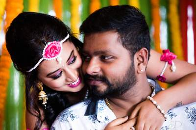Traditional Real Wedding of Savitha and Kishore: The couple who was always destined to be together!