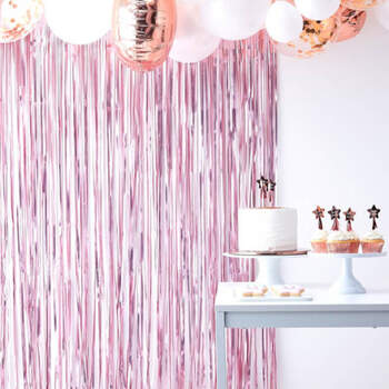 Cortina de fondo rosa- Compra en The Wedding Shop