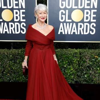 Helen Mirren abito Christian Dior. Crédits Cordon Press