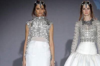 Vestidos de novia con detalles plateados 2016. ¡Descúbrelos!