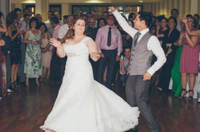 Coreografías divertidas, una nueva forma de abrir el baile nupcial