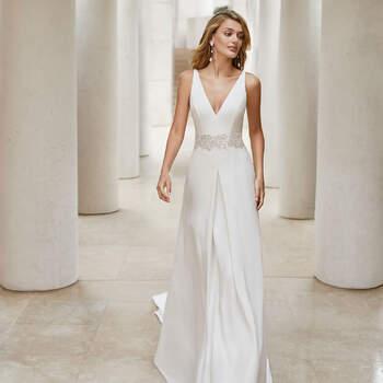 Créditos: Rosa Clará 2020 | Modelo do vestido: Samy