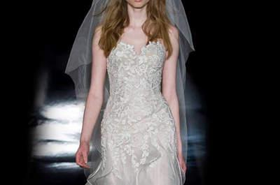 Los 27 mejores vestidos de novia Reem Acra 2017: diseños de lujo para momentos únicos