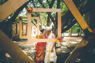 The South Indian style Real Wedding of Kirtana and Rahul: The one with the pinch of culture