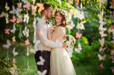 Decoración aérea para matrimonios: inspírate y ¡siente el amor en el aire!