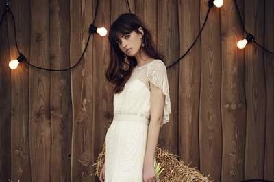 Vestidos de novia Jenny Packham 2017: El toque boho chic perfecto para tu boda