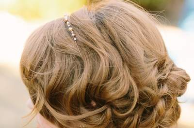 El cabello ondulado o rizado en el día de tu boda