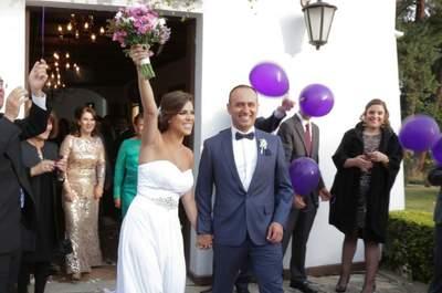 María Ximena y Andrés: un matrimonio con estilo propio