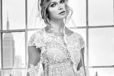 Acconciature da sposa con velo: il connubio perfetto per un look inimitabile