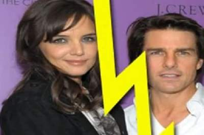 Tom Cruise e Katie Holmes da poco separati. Foto: youtube.com