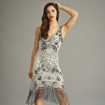 Belicia sequin flapper dress. Credits: Frock & Frill