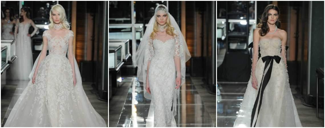 Robes de mariée Reem Acra 2018 : d'authentiques bijoux pour votre grand jour