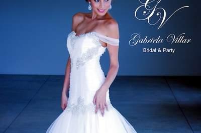 ¿Un vestido de novia hecho especialmente para ti? ¡Así es! Conoce más del servicio de Gabriela Villar Novias
