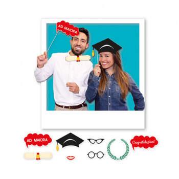 Atrezzo para Photocall Graduación 8 unidades - Compra en The Wedding Shop