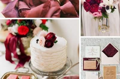 Marsala é a cor Pantone 2015: Uma nova ideia para o seu casamento!