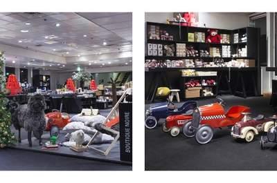 Foncez à la Boutique Noire du Printemps pour votre shopping de Noël