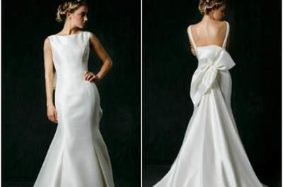 Zauberhafte Brautkleider mit Schleifen: Extrem romantische Hochzeitskleider