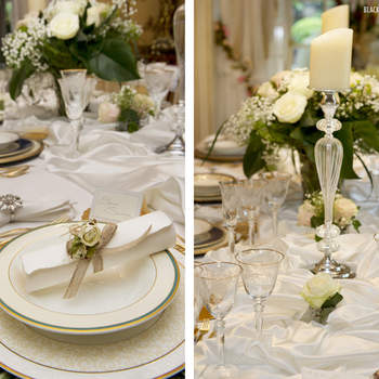 La decoración de la mesa es también muy importante en la boda y en Belle Day tuvieron espacios especiales para ella. Foto: Belle Day. http://belleday.com/es/