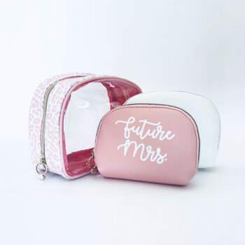 Neceser Rosa Amor 3 Unidades- Compra en The Wedding Shop
