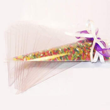 Conos de arroz para boda 200 unidades - Compra en The Wedding Shop