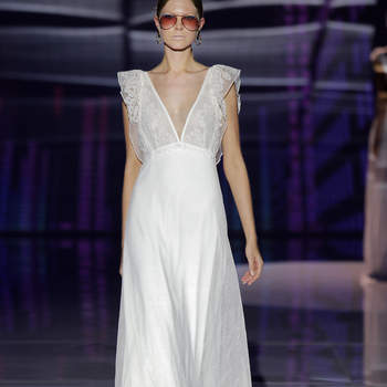 Marylise by Rembo Styling. Crédito: Barcelona Bridal Fashion Week