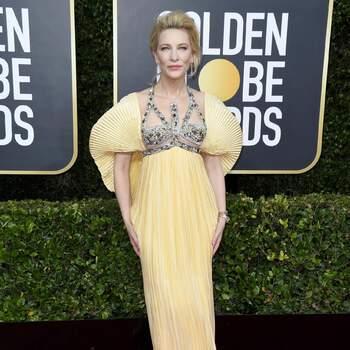 Cate Blanchett abito Mary Katrantzou. Crédits Cordon Press