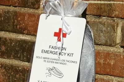 Kit de emergencia para invitadas, con bailarinas de repuesto. Foto: Según Joe